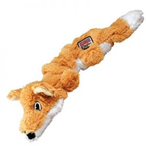 KONG Scrunch Knots Fox - S/M: L 23 x B 8 x 5 H cm