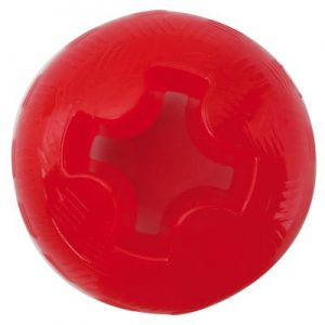 Mighty Mutts? Tough Dog Toys Rubber Ball - Stl. M: 8 cm
