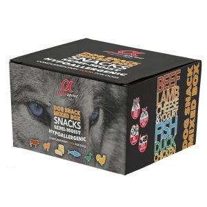 Alpha Spirit Dog Snacks Mixbox - 9 x 35 g