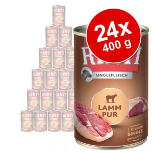 Ekonomipack: Rinti Single Pure 24 x 400 g - Exclusive Häst