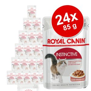 Ekonomipack: Royal Canin våtfoder 24 x 85 g - Ultra Light i gelé