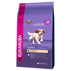 Eukanuba Puppy Small / Medium Breed Lamb & Rice - 12 kg