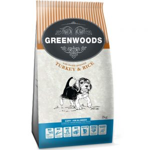 Greenwoods Puppy Turkey & Rice - 2 kg