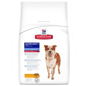 Hill's Science Plan Mature Adult 7+ Active Longevity Medium Chicken - 12 kg