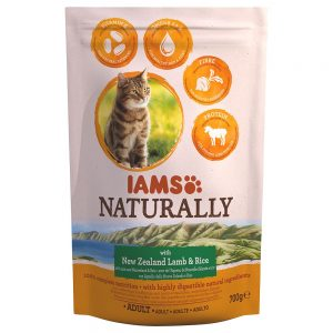 IAMS Naturally Cat Adult Lamb - 700 g