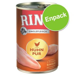 Rinti Single Pure 1 x 400 g - Nötkött