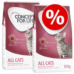 Ekonomipack: Concept for Life - Maine Coon Adult (2 x 10 kg)