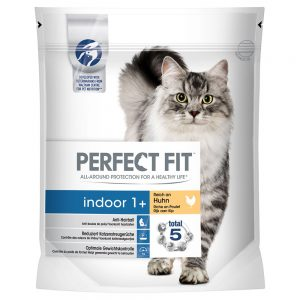 Perfect Fit Indoor 1+ Kyckling - Ekonomipack: 4 x 1,4 kg