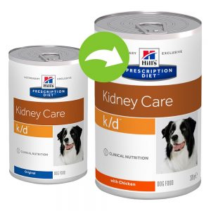 Hill's Prescription Diet k/d Kidney Care Original hundmat - Ekonomipack: 24 x 370 g