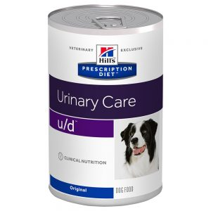 Hill's Prescription Diet u/d Urinary Care Original hundmat - Ekonomipack: 24 x 370 g