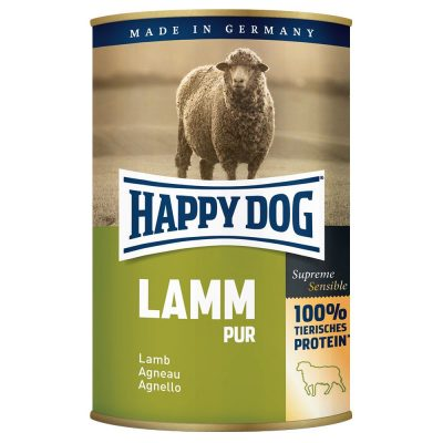 Happy Dog pure 6 x 400 g - Vilt