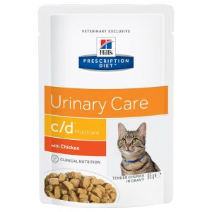 Hill's Prescription Diet Feline c/d Multicare Chicken - 24 x 85 g