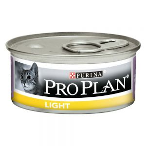 Pro Plan Cat Light - 24 x 85 g Kalkon