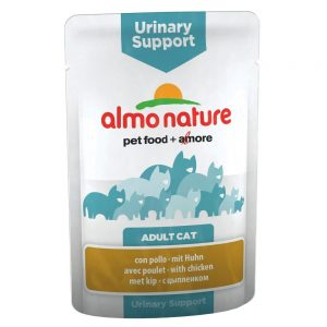 Almo Nature Urinary Support Pouch - 24 x 70 g Fisk