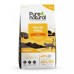 Purenatural Cat Grain Free Adult Turkey 2 kg