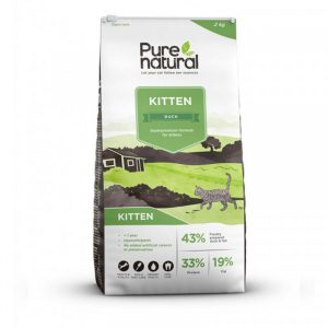 Purenatural Kitten Duck 10 kg