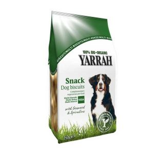Yarrah Organic Dog Multi Biscuits Vegetarian/Vegan
