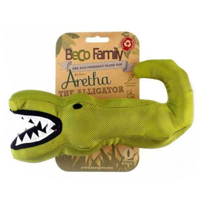 Beco Eco Hundleksak Aretha The Alligator