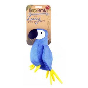 Beco Eco Hundleksak Lucy The Parrot