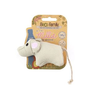 Beco Eco Kattleksak Millie The Mouse