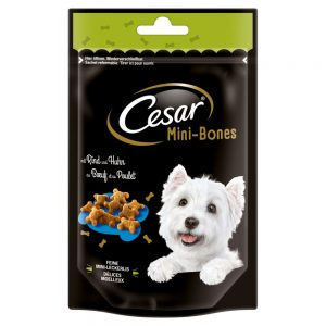 Cesar Mini Snacks - Ekonomipack: Mini-Joys med ost & kyckling (6 x 100 g)
