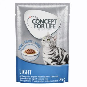 Concept for Life Light - i sås - 48 x 85 g