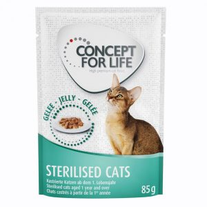 Concept for Life Sterilised Cats - i gelé - 48 x 85 g