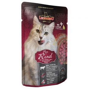 Leonardo Finest Selection Pouch 6 x 85 g - Kitten Chicken