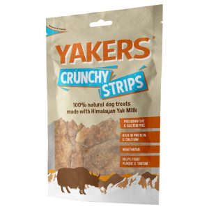 YAKERS Crunchy Strips - 70 g