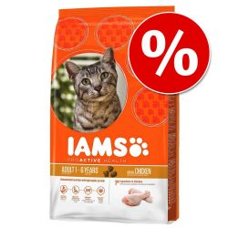 10 % rabatt på 2,55/3 kg Iams torrfoder! - Active Health Adult Chicken