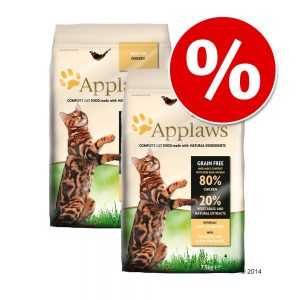 9,5 kg Applaws kattfoder till SUPERPRIS! - Adult Chicken