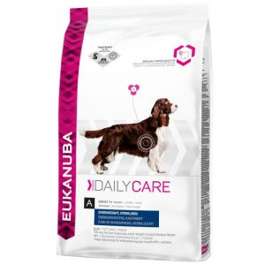 Eukanuba Daily Care Overweight, Sterilized All Breeds (12.5 kg)