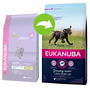 Eukanuba Growing Puppy Large Breed Chicken - 15 kg