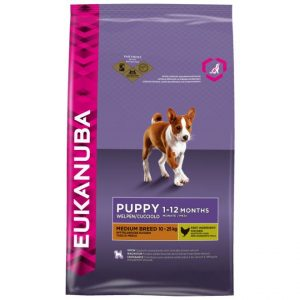 Eukanuba Puppy Medium Breed Chicken (3 kg)