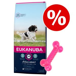 Eukanuba hundfoder + TPR-ben på köpet! - Active Adult Large Breed Chicken 15 kg