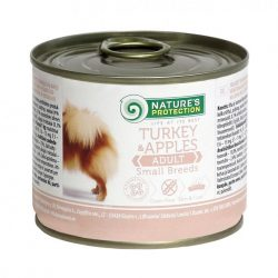 Nature's Protection Dog Adult Small Breeds Turkey&Apples (200 gram)