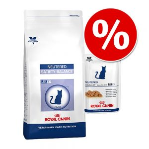 Royal Canin Vet Care Nutrition blandpack torrfoder + våtfoder - Senior Consult Stage 1