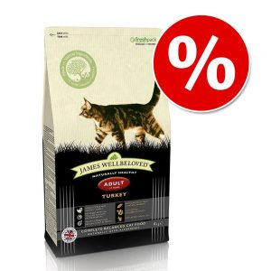 1,5 kg James Wellbeloved torrfoder till rabatt! - Adult No Cereal Turkey