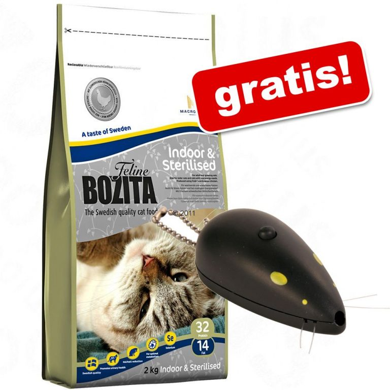 10 kg Bozita Feline + laserpekaren Catch the Light på köpet! - Sensitive Hair & Skin