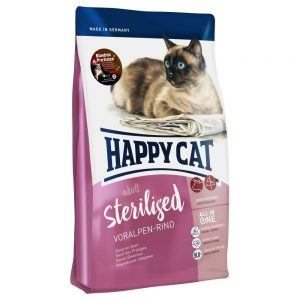 Happy Cat Supreme Sterilised Beef - Ekonomipack: 2 x 10 kg