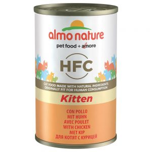 Almo Nature Classic HFC Kitten med kyckling - 12 x 140 g