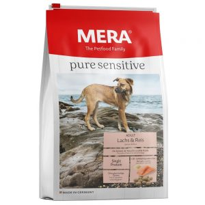Meradog Pure Sensitive Lax & ris - 12,5 kg