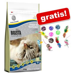 10 kg Bozita Feline + bollar & möss på köpet! - Sensitive Diet & Stomach