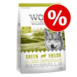 10% på 1 kg påsar från Wolf of Wilderness The Taste Of Canada - 1 kg