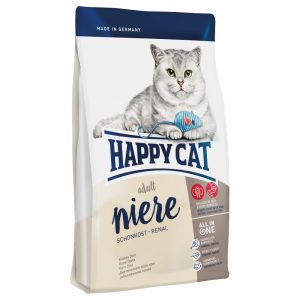 Happy Cat Renal Kidney Diet - Ekonomipack: 3 x 1,4 kg