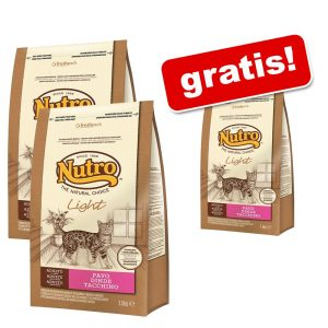 3 kg + 1,5 kg på köpet! Nutro Natural Choice kattfoder - Adult Turkey
