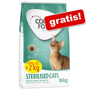 Concept for Life kattfoder i bonusbag - Sterilised (10 + 2 kg)