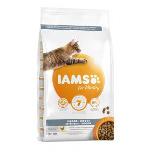 IAMS for Vitality Cat Adult Indoor Chicken - Ekonomipack: 2 x 10 kg
