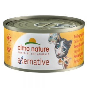 Almo Nature HFC Alternative Cat 6 x 70 g Skinka & parmesan