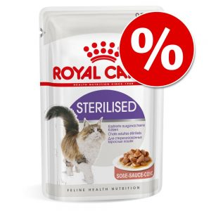 27 + 9 på köpet! 36 x 85 g Royal Canin i portionspåse - Intense Beauty i sås